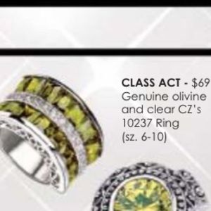 Jewels By Park Lane Class Act Ring